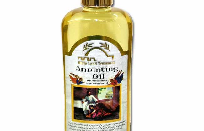 Anointing Oil and the Spirituality of Mothers