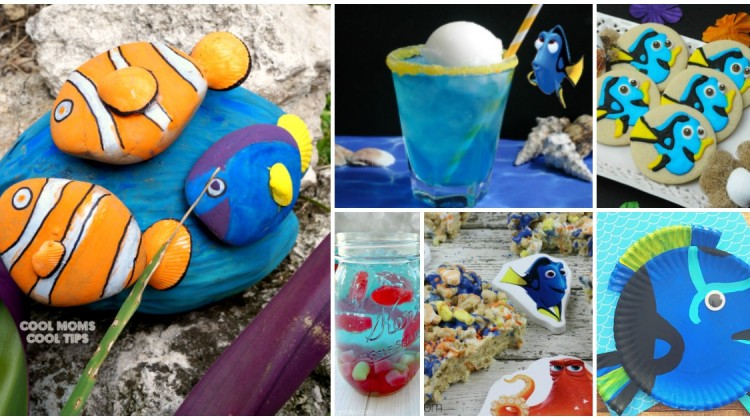 Finding Dory Recipe & Craft Roundup #HaveYouSeenHer