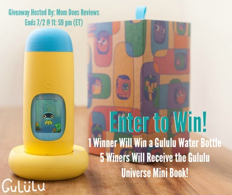 Enter the Gululu Water Bottle Giveaway. Ends 7/2