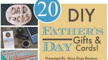 Make it for Dad!  Father's Day Gifts & Crafts