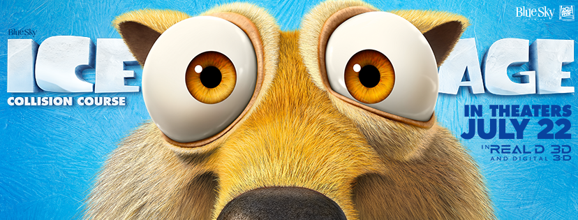 Ice Age: Collision Course Coming to theaters in July!