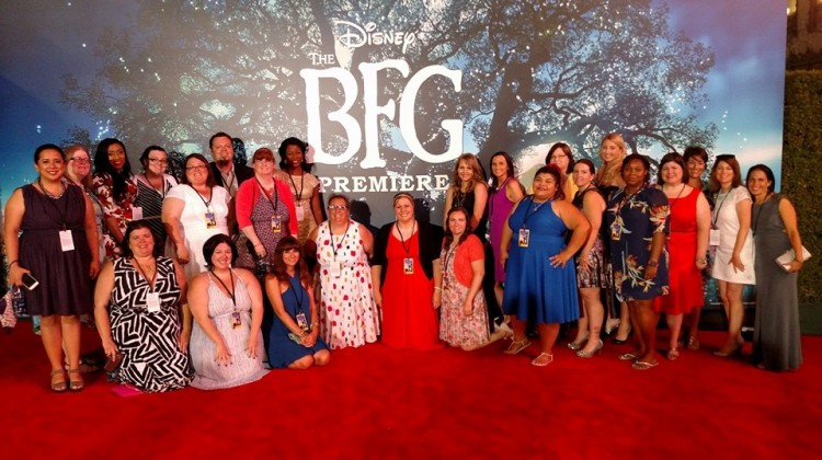 My GIANT Red Carpet Premier Experience #TheBFGEvent