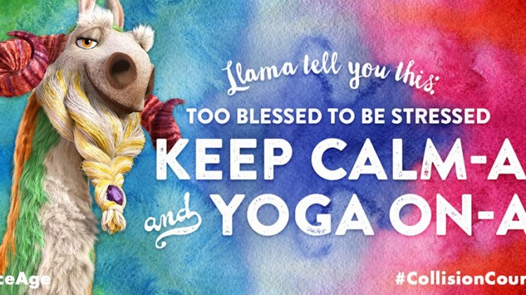 Celebrate Ice Age + International Yoga Day Today! #YogaDay #IceAge #CollisionCourse