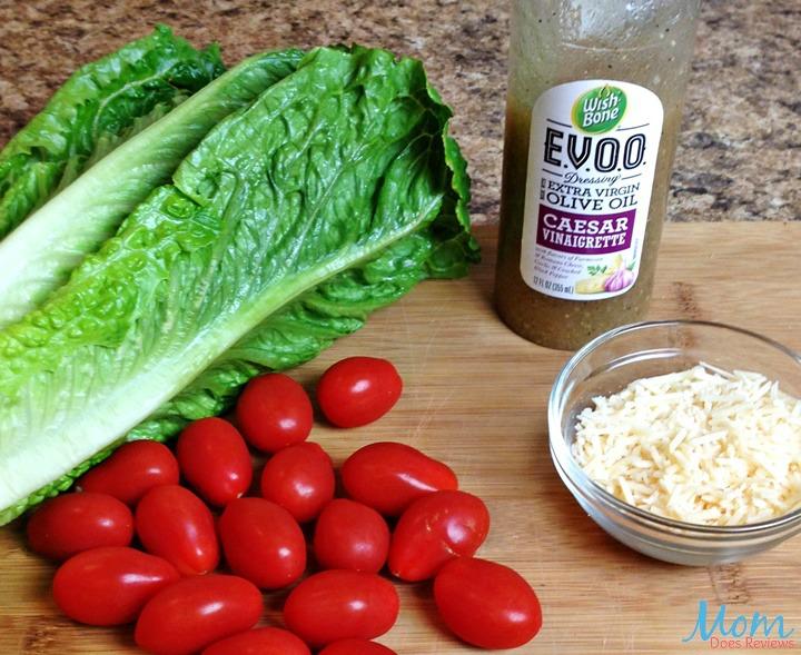 Romaine Salad with Caesar Vinaigrette Dressing ingredients