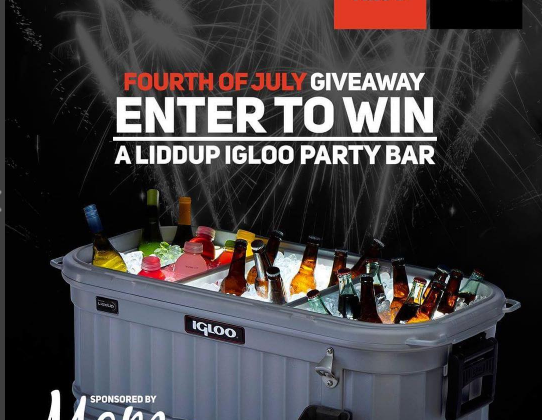LiddUp Party Bar #Giveaway #‎liddup‬ ‪#‎igloocoolers‬ 7/4 US only #ad