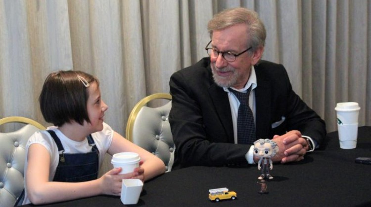 MDR Exclusive Interview with Steven Spielberg and Ruby Barnhill! #TheBFGEvent