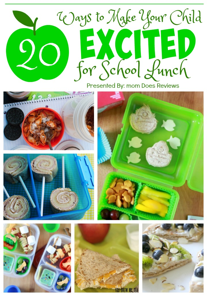 20 Ways to Make Your Child Excited for School Lunch!