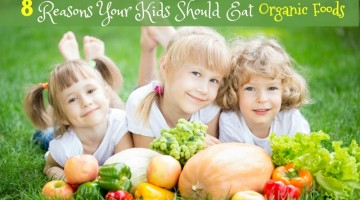 8 Reasons Your Children Should Eat Organic Food