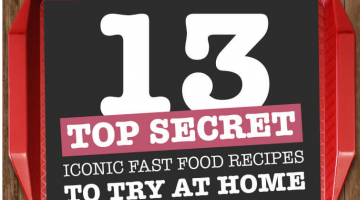 The Secret Ingredients to those Fast Food Meals Revealed!
