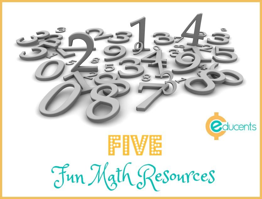 five-fun-math-resources