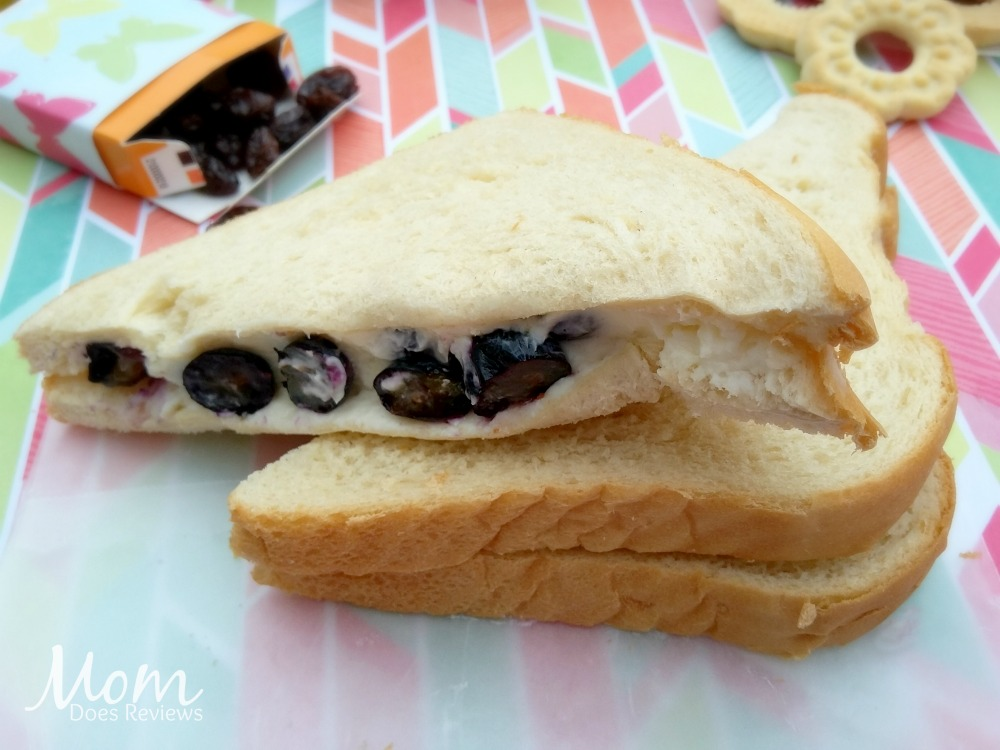 Sweetened Berry & Cream Cheese Sandwich, School Lunch Ideas, #BTS #MomDoesReviews
