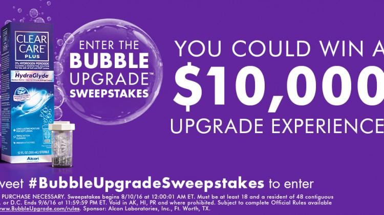 Do You Need an Upgrade? #BubbleUpgradeSweepstakes #IC #ad