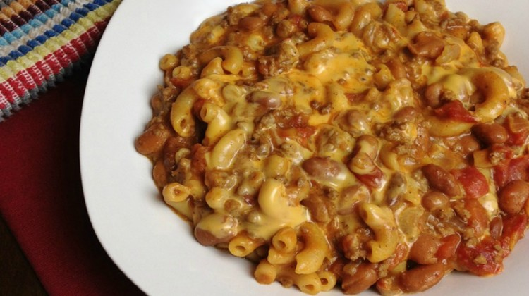 Cheesy Chili Mac #Recipe: An Easy One-Dish Meal
