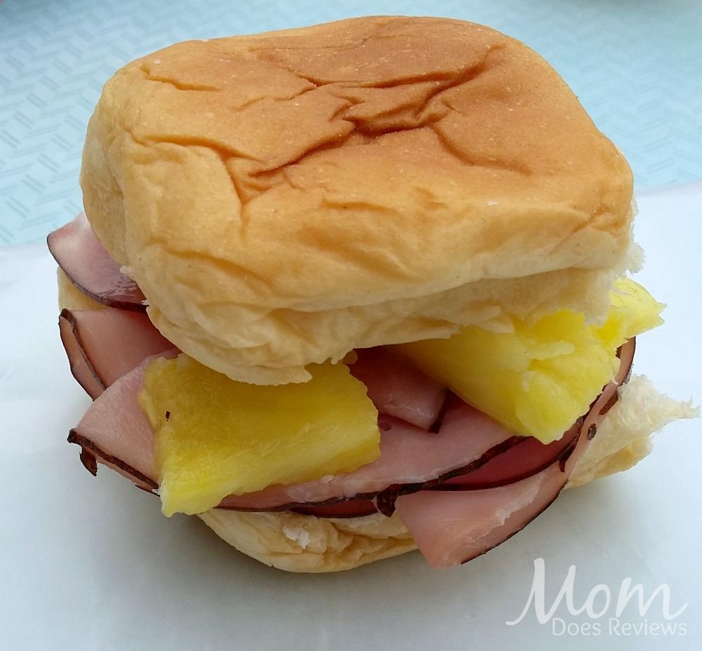 Ham & Pineapple Slider Sandwiches, School Lunch Ideas, #BTS #MomDoesReviews