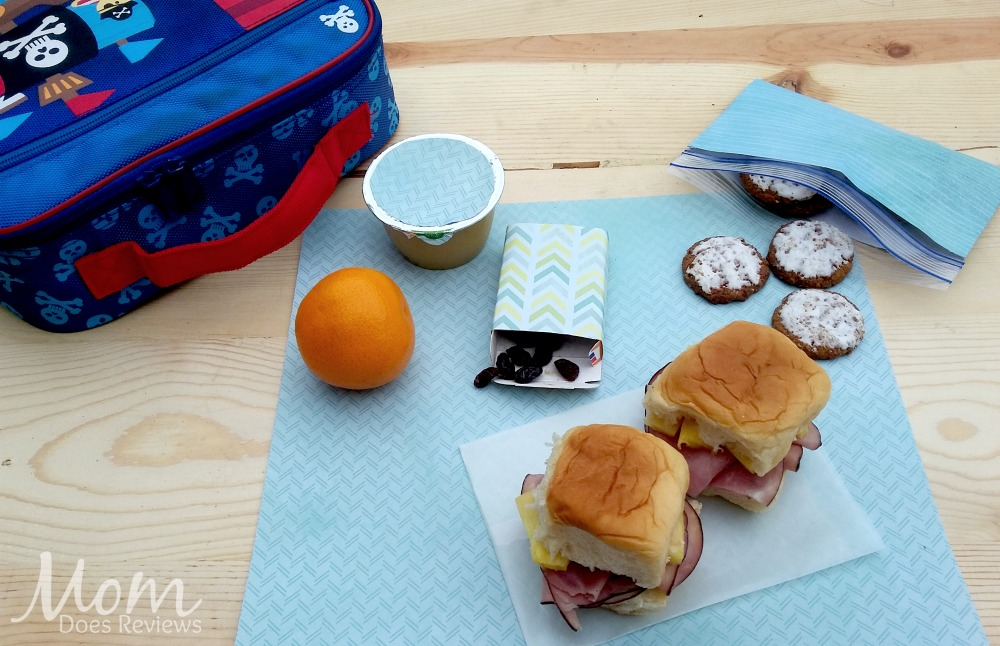 Ham & Pineapple Slider Sandwiches, School Lunch Ideas, #BTS #MomDoesReviews