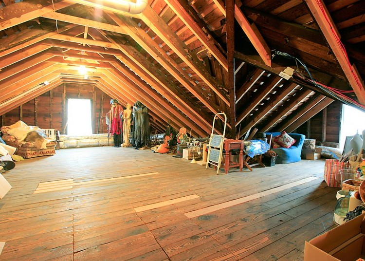 how to make my attic into a room