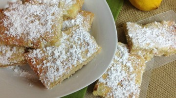 Easy Delicious Lemon Squares #Recipe