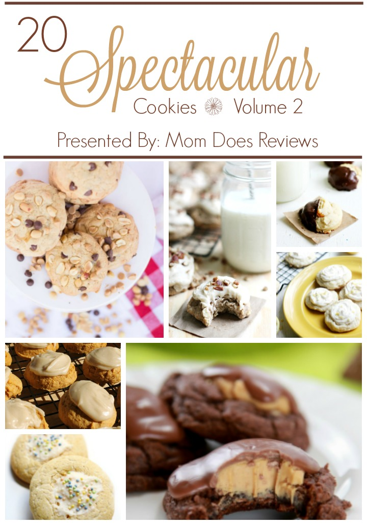 20 Spectacular Cookie Recipes, Volume 2, Presented by Mom Does Reviews