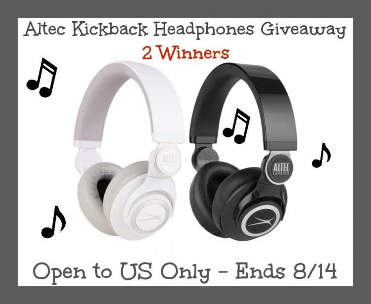 2 #Winners for Altec Kickback Headphones- US 8/14 -