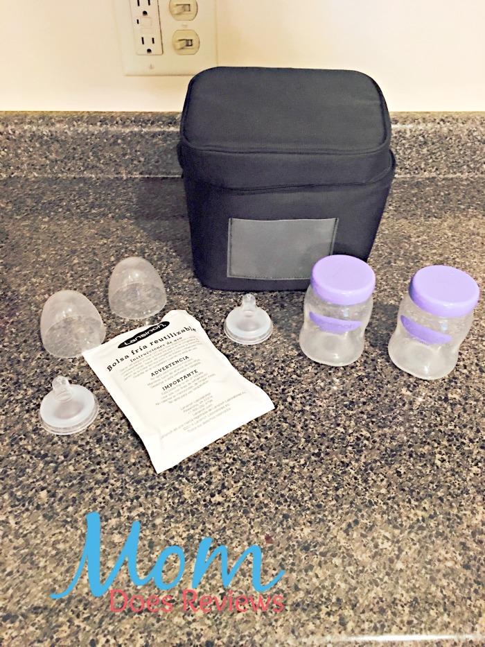 lansinoh manual breast pump flange size