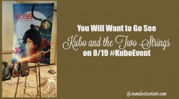 You Will Want to go See Kubo and the Two Strings on 8/19 #KuboEvent