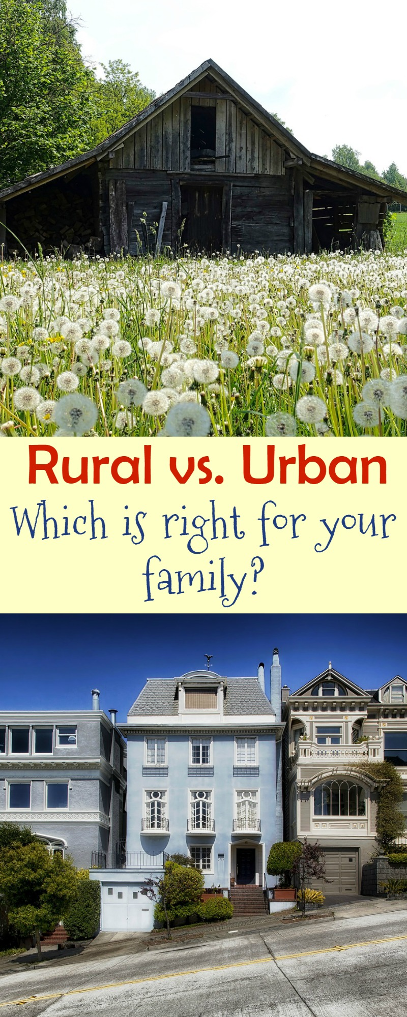 Urban vs rural education