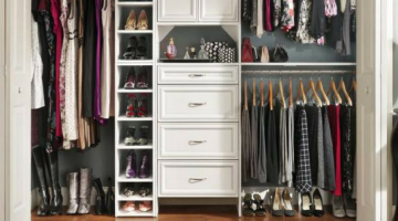 10 Ways to Keep Your Closet Organized