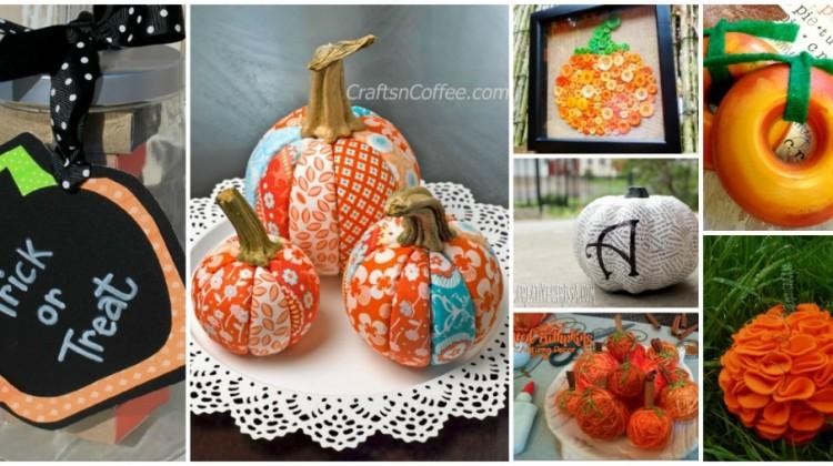 25 Pumpkin Crafts for All!