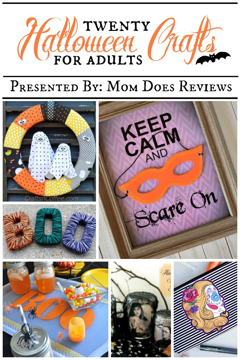 20 halloween crafts for adults presented by mom does reviews