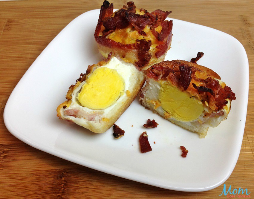 Bacon Wrapped Egg and Cheese Muffin Cups