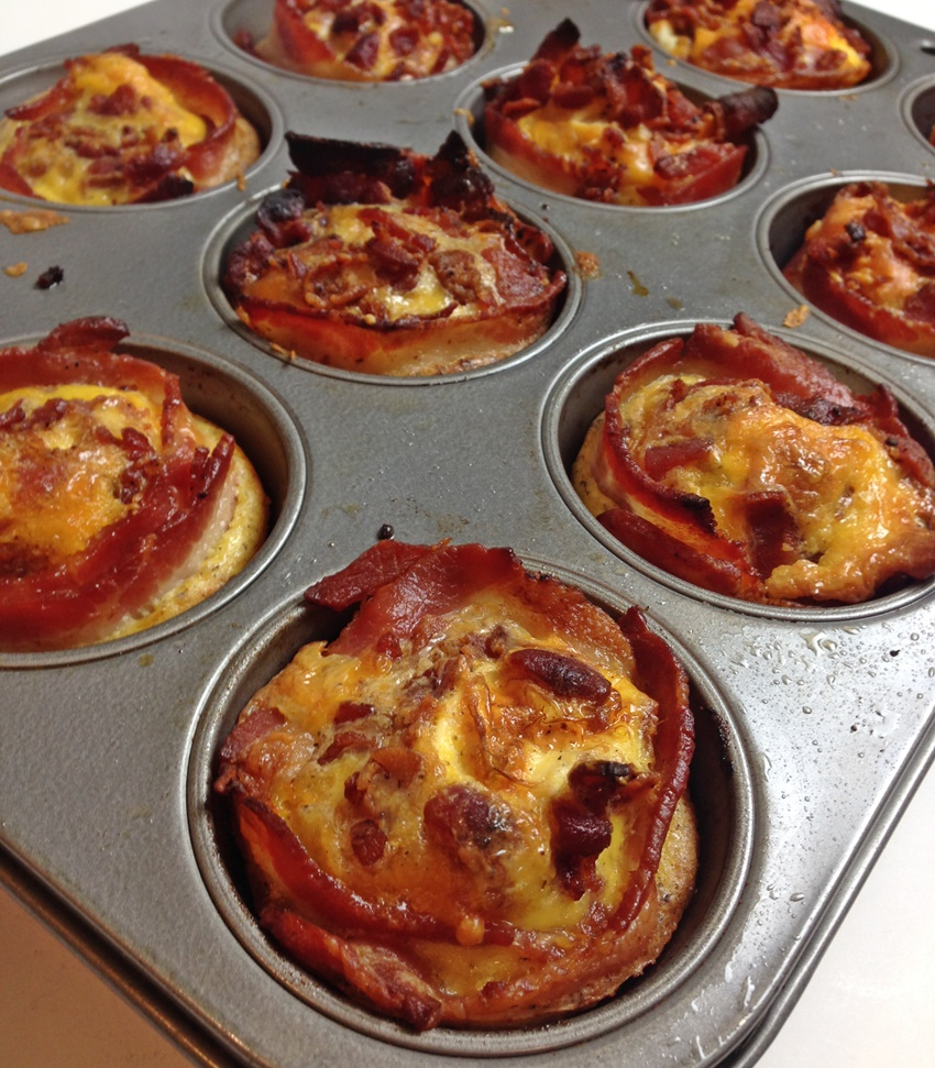 How to Bake Eggs in Muffin Tins