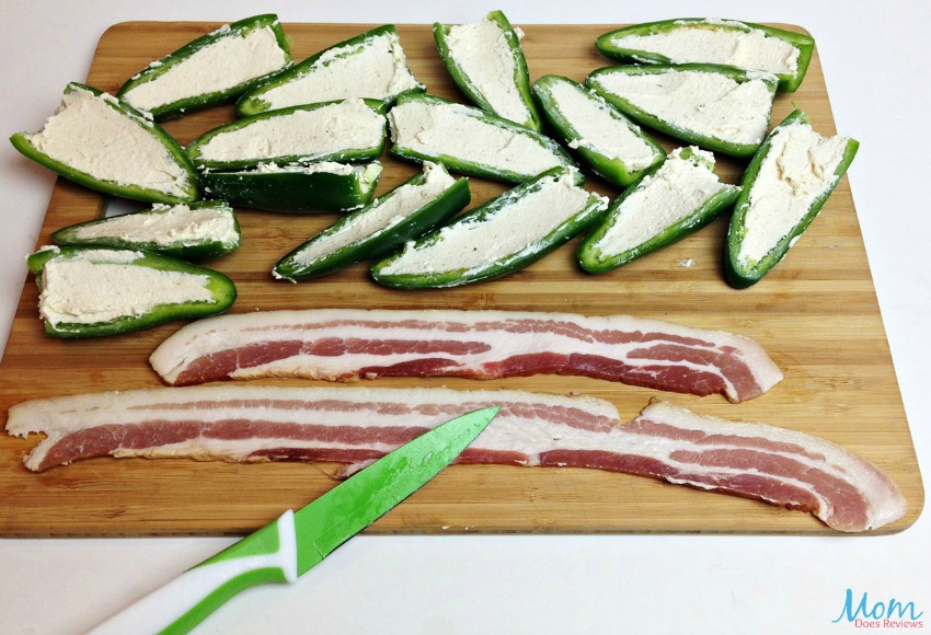 Bacon Wrapped Jalapeno Peppers process