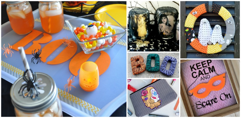 Twenty easy halloween decoration crafts for adults for Health craft cookware reviews