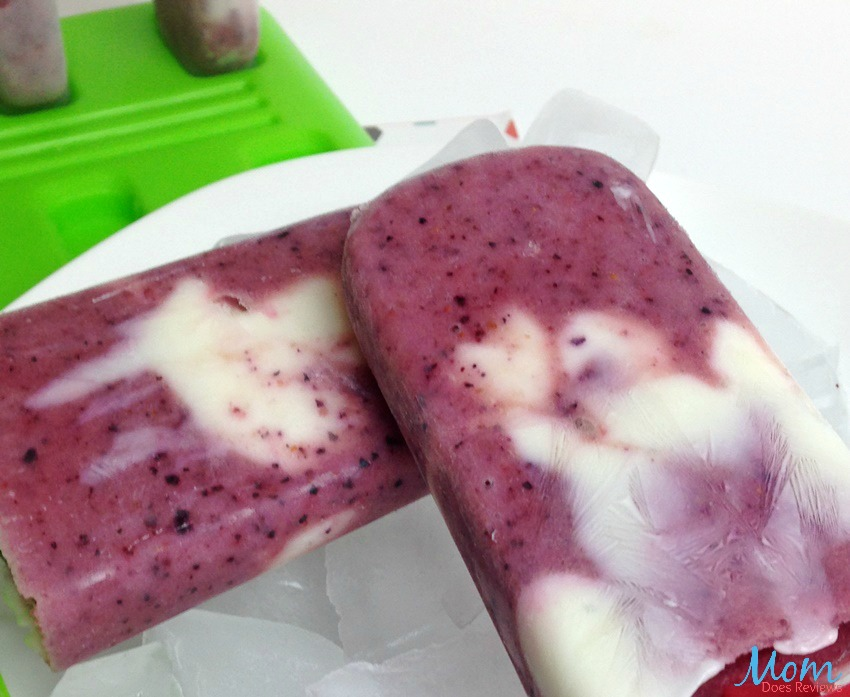 ... hours. Run mold under hot water to loosen and release the ice pop