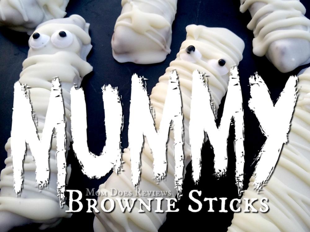 Brownie Sticks - Easy Halloween Party Snacks