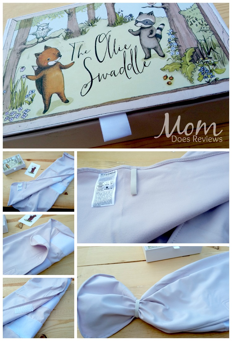 The Ollie Swaddle Set from The Ollie World