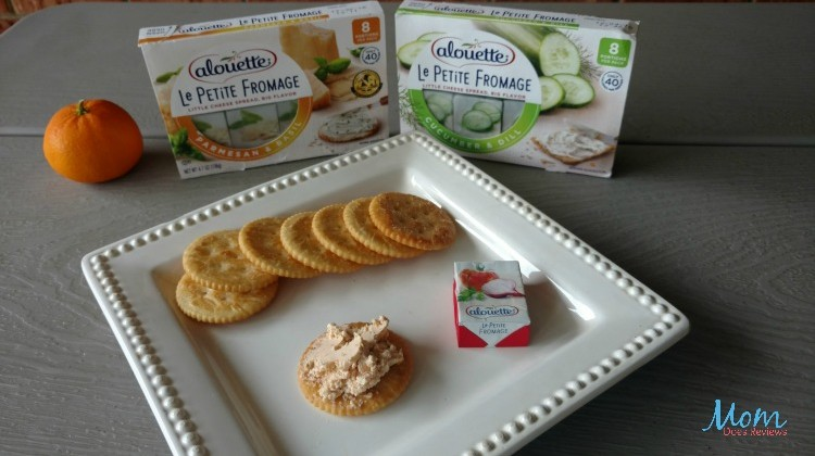 Alouette Le Petite Fromage Cheeses: Single Serving Snacks #ThisIsCheese #Review #Back2School16