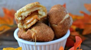 #12Daysof Halloween #Recipes {Day 11} Caramel Apple Balls