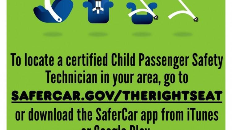 Child Passenger Safety Week #STORKS #TheRightSeat