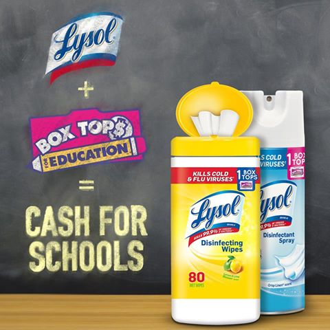 Lysol Partners with PTA and National Education Association