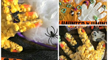 #12Daysof Halloween #Recipes {Day 12} Popcorn Witch Hands