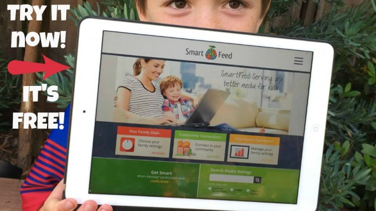 Sign up for SmartFeed! It's FREE! Engaging Media just for Kids! #ad #SmartFeed