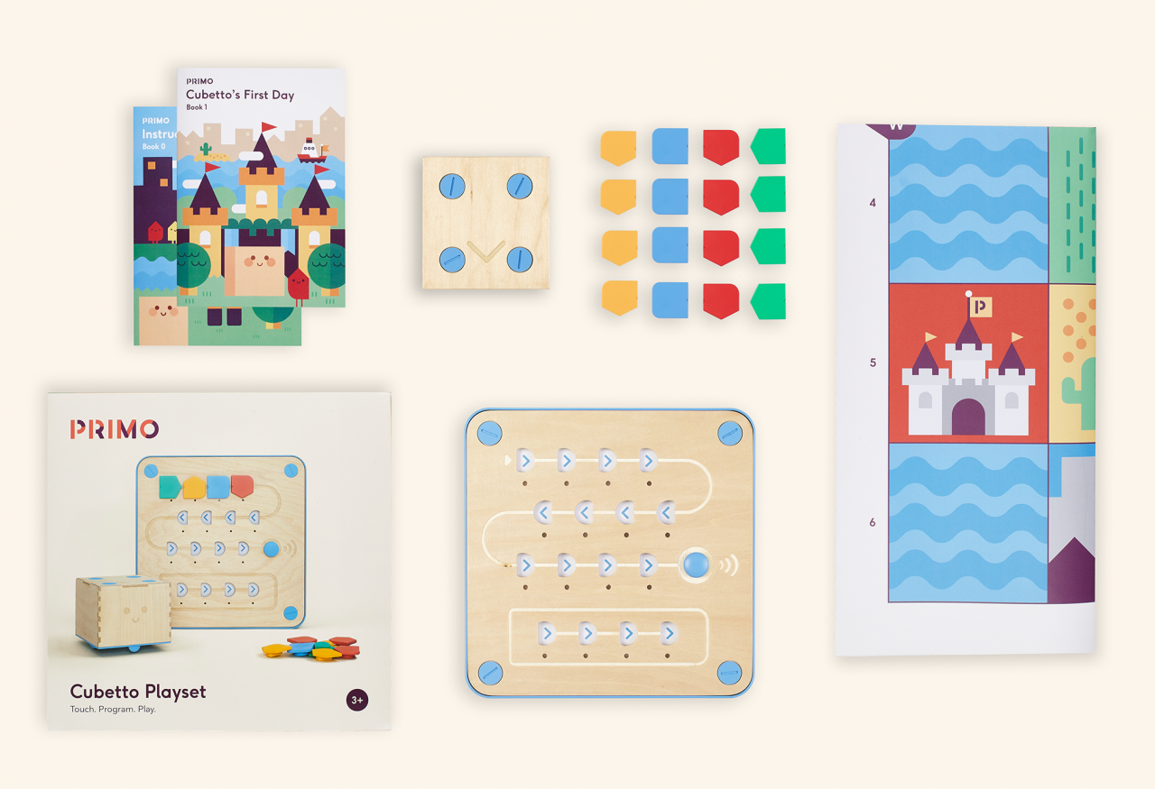 Cubetto Computer Programming Curriculum Toy
