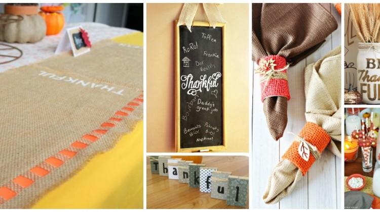 40 Thanksgiving DIY Decor & Crafts