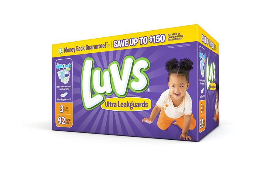 graphic regarding Luvs Printable Coupons identified as $2 Off Luvs Printable Coupon Supply for Oct 2016