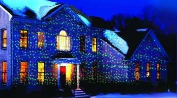 Illuminate Your Home Inside and Out With the NEW Star Shower Motion Laser Light