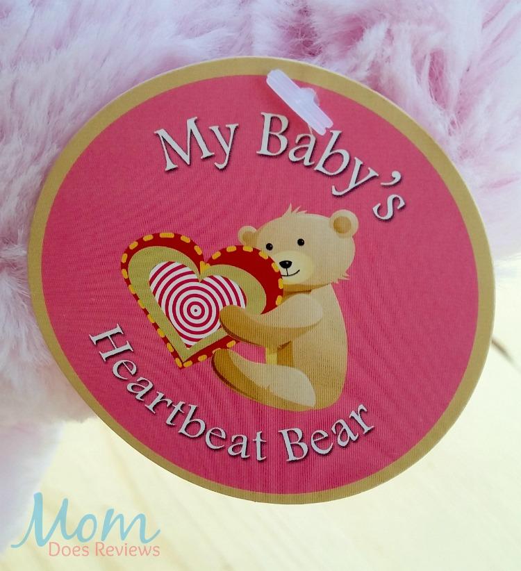 My Baby S Heartbeat Bear Gender Reveal Ultrasound Keepsake