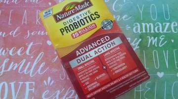 Managing Gut Health with Nature Made® Probiotics #NatureMadeAtWalmart #IC #ad