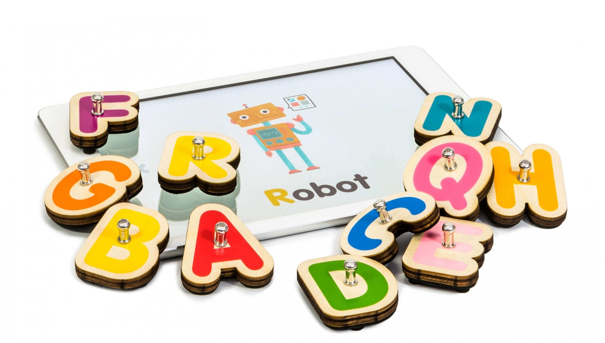 Smart Letters Educative Toy from Marbotic