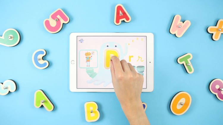 Let's Play with Smart Letters by Marbotic! Educative Toy #Review #ChristmasMDR16